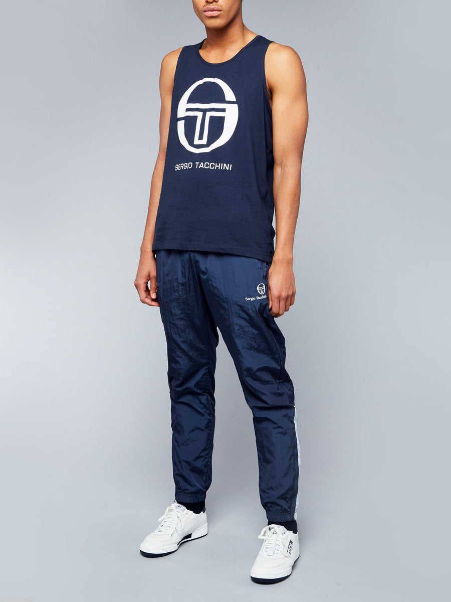 FUNES TANK TOP - NAVY/WHITE