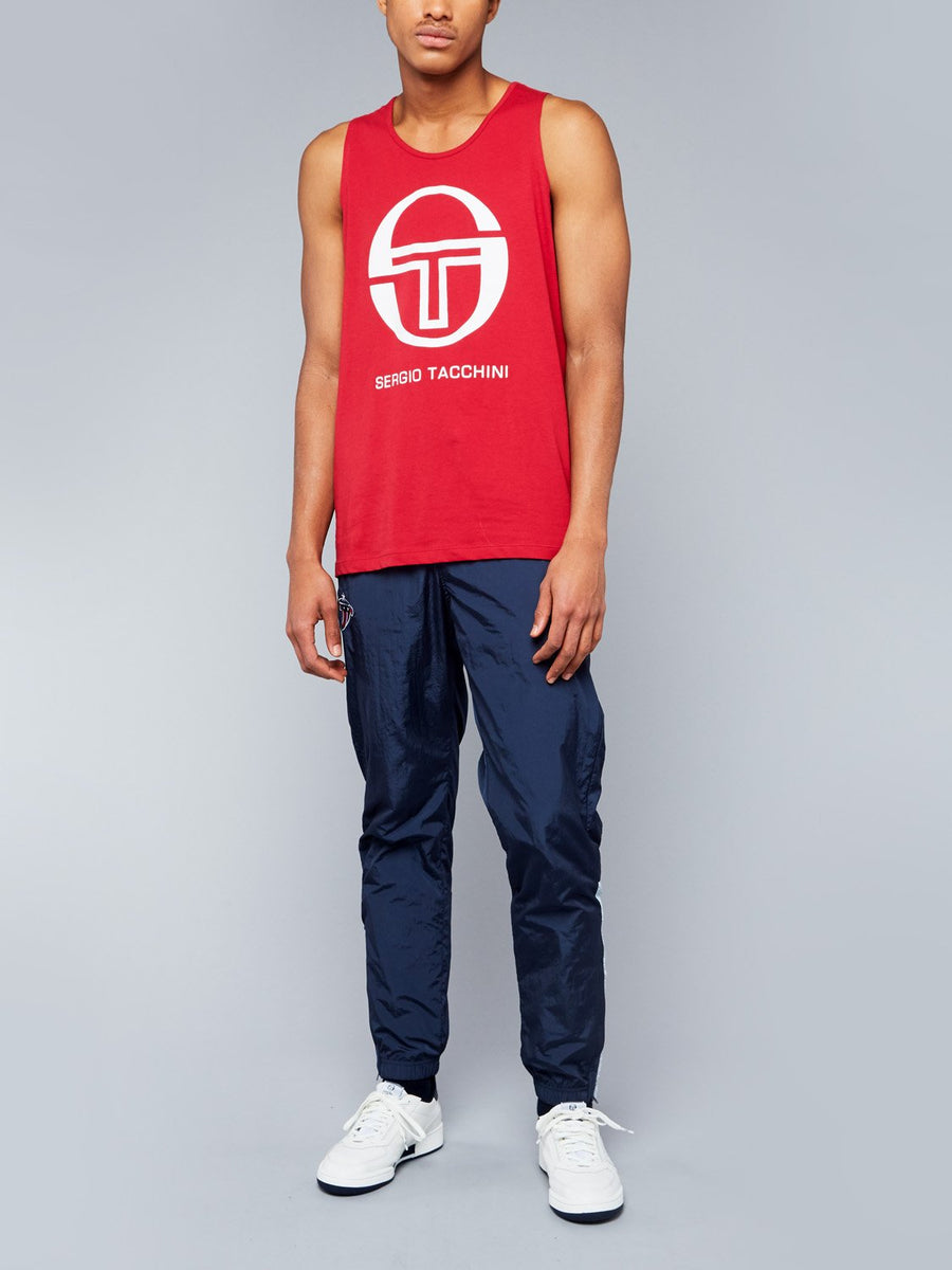 FUNES TANK TOP - APPLE RED/WHITE