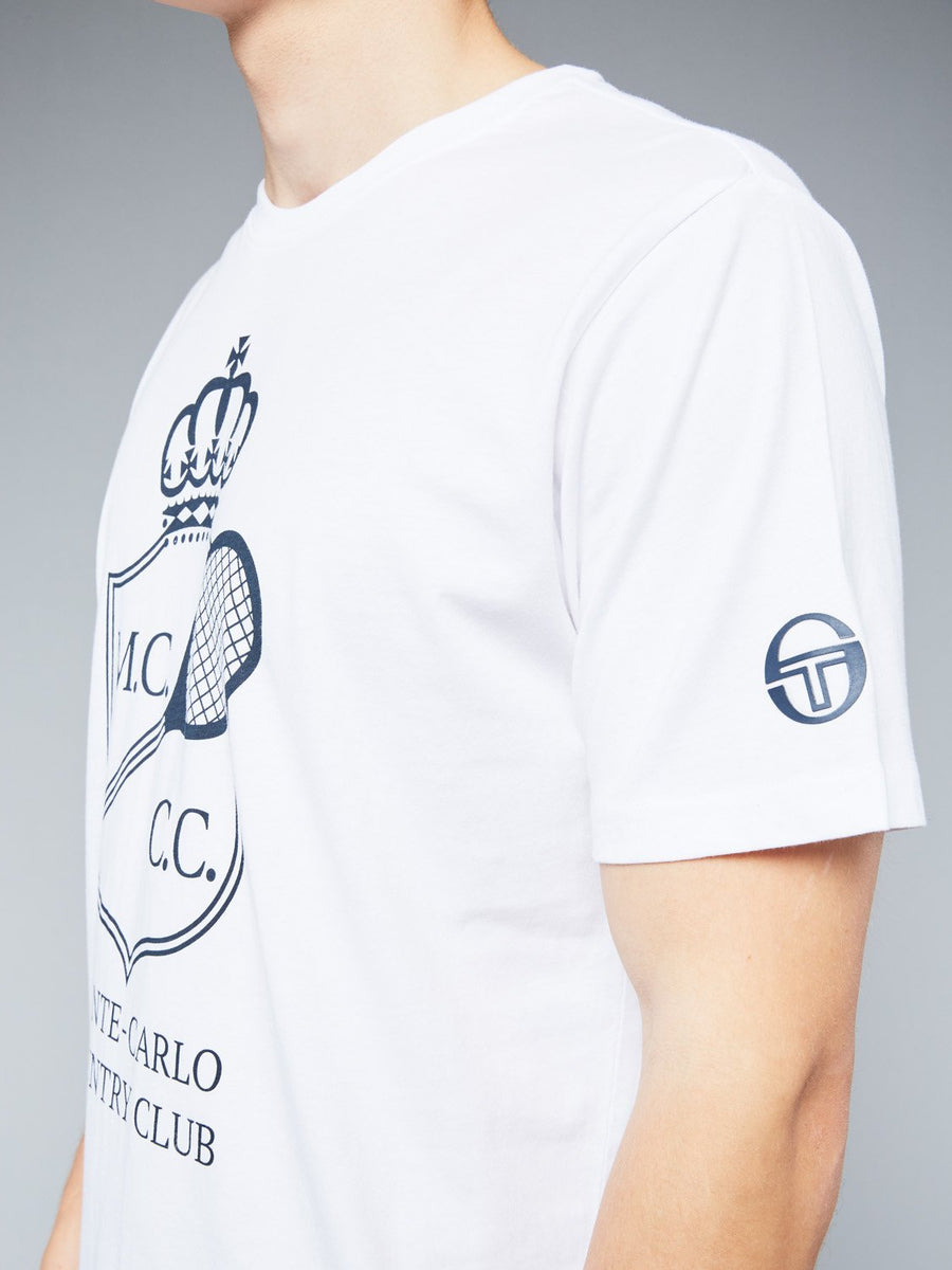 FULDA/MC/MCH T-SHIRT - WHITE/NAVY