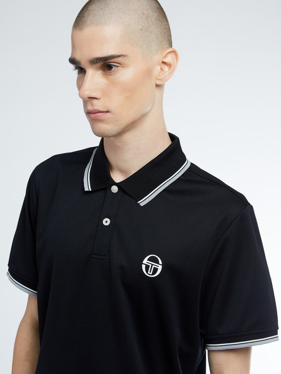 Reed Polo - BLACK/RING GREY