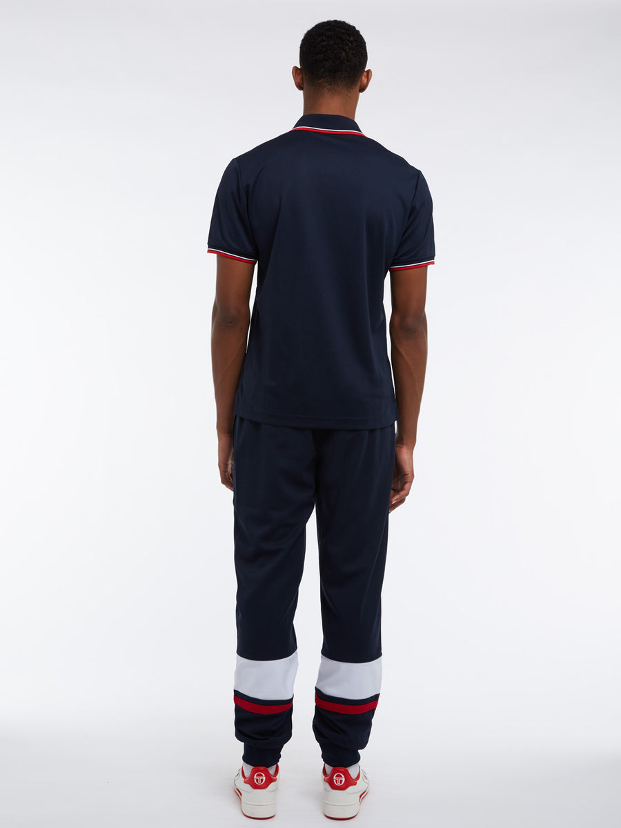 Reed Polo - NAVY/RED