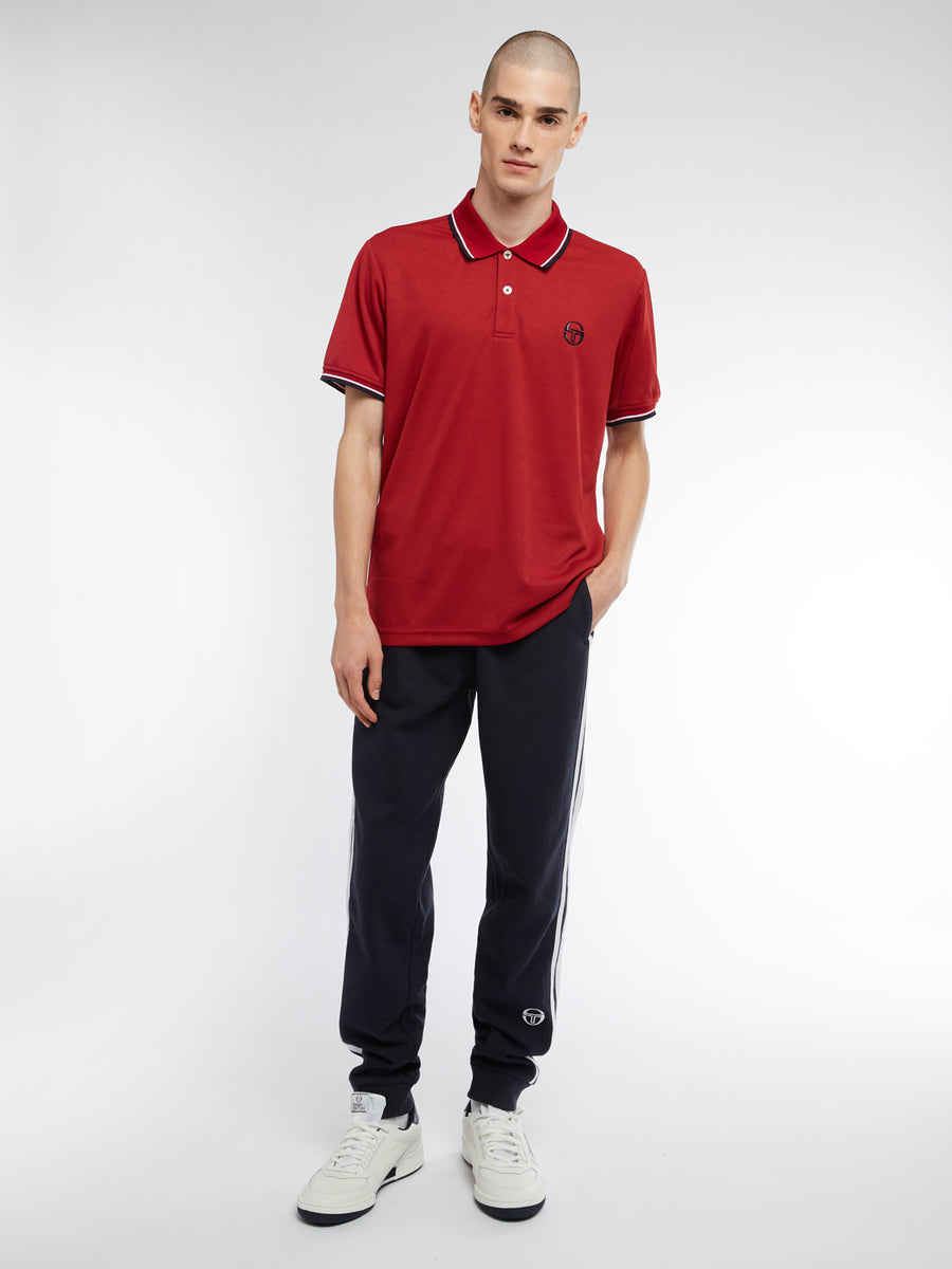 Reed Polo - APPLE RED/NAVY