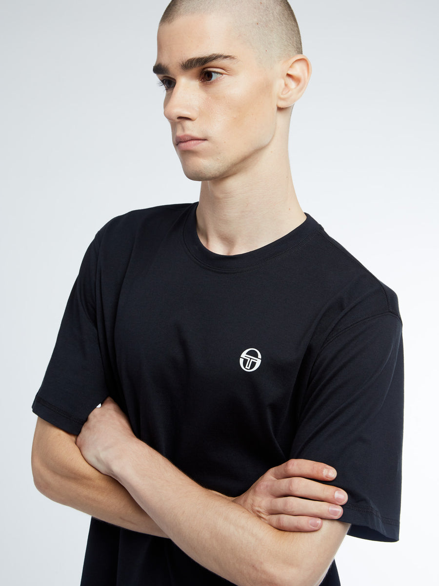 Run T-Shirt - BLACK/WHITE