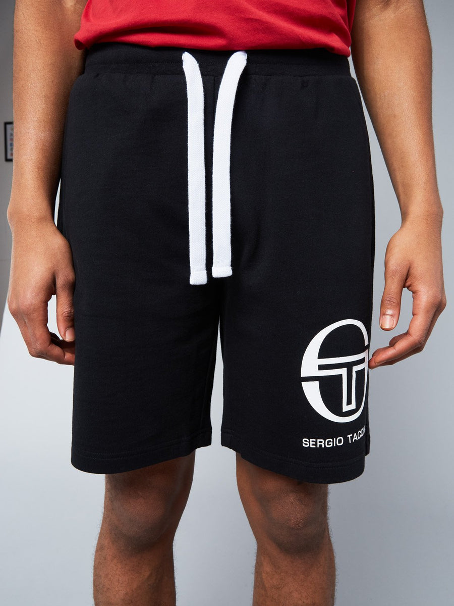 OASIS 020 SHORTS - BLACK/WHITE