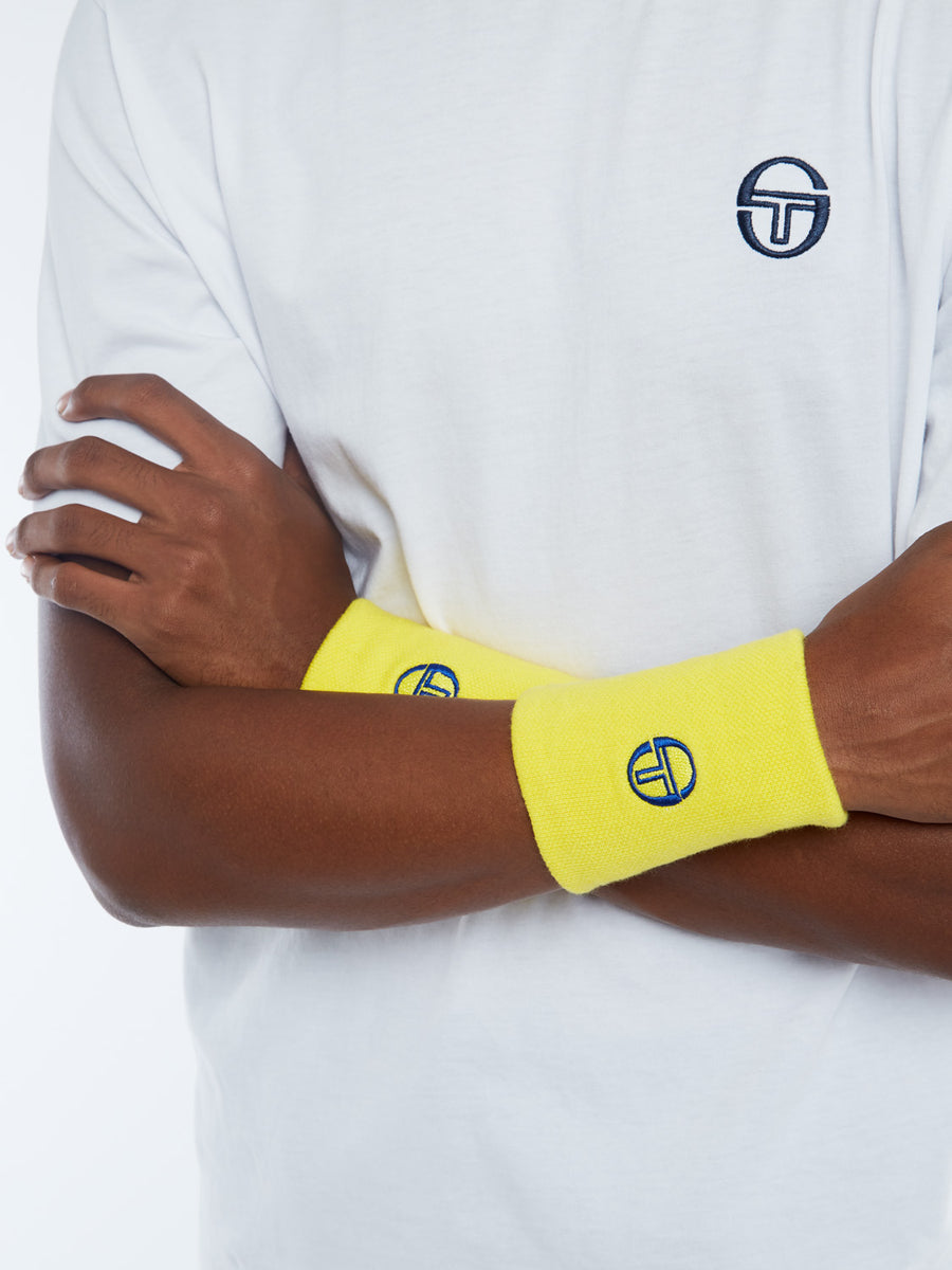 Check Wristband - SUN YELLOW/LYONS BLUE