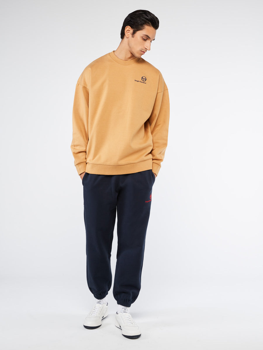 Brooklyn Sweatshirt - CINNAMON/NAVY