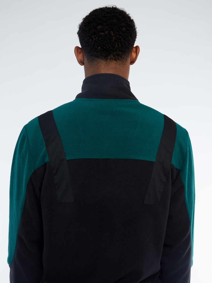 Boom Fleece Pullover - BLACK/BOTANICAL
