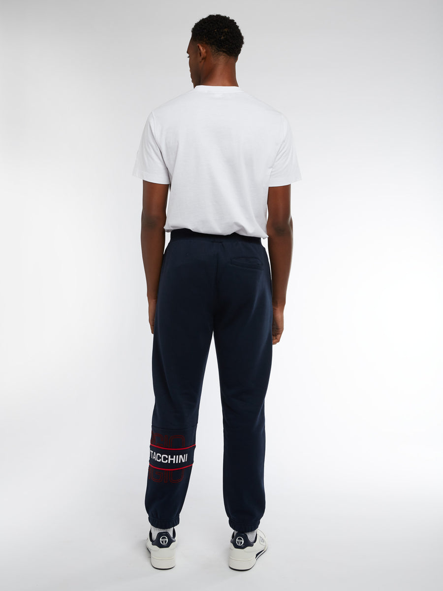 Blink Sweatpants - NAVY/RED