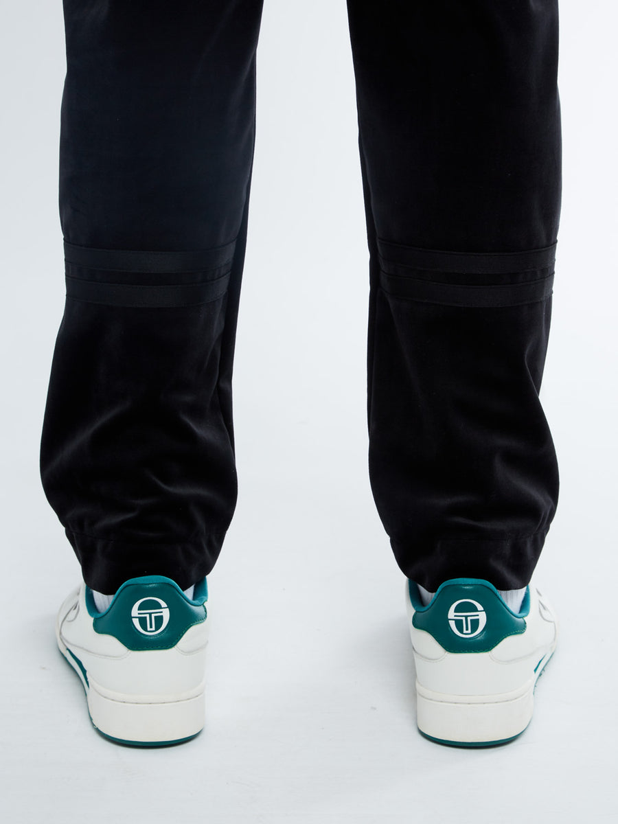 Orion Velour Pants Archivio - BLACK