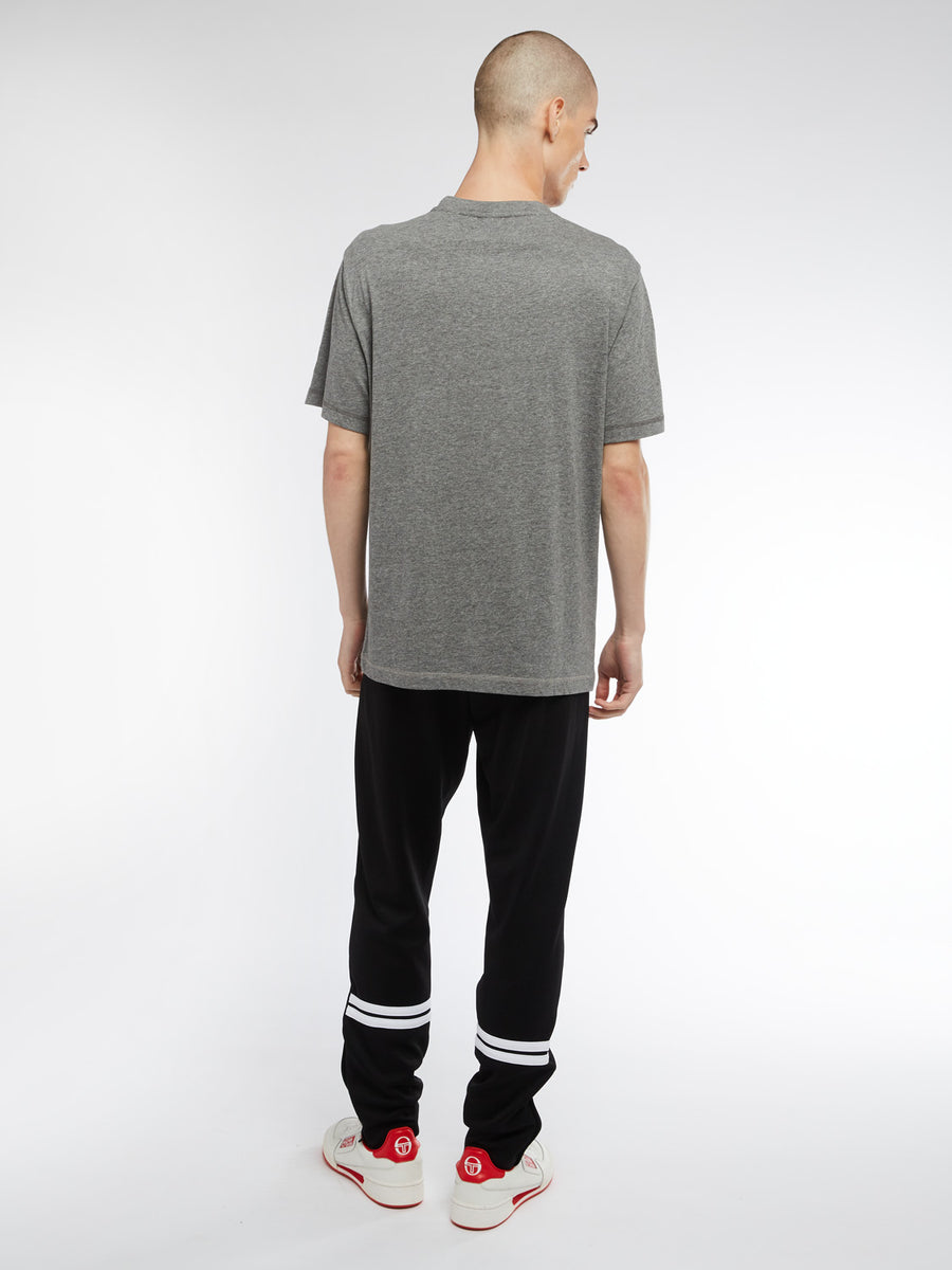 Robin T-Shirt - DARK GREY MELANGE/WHITE/BLACK