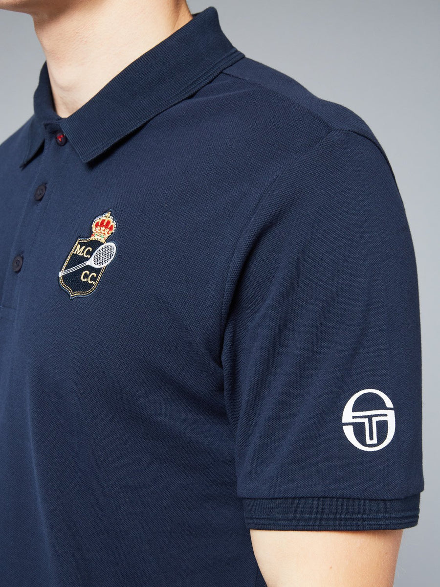 FANCHER/MC/MCH POLO - NAVY/WHITE