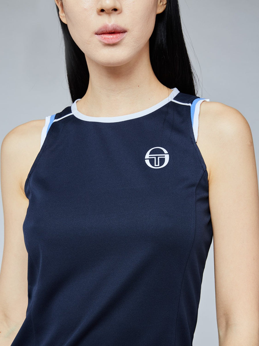 PLIAGE TANK TOP - NAVY/WHITE