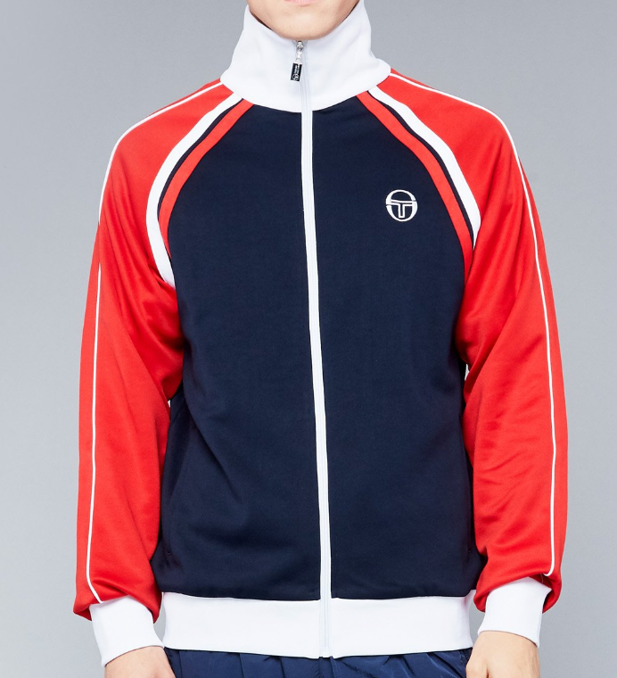 Ghibli Track Jacket Archivio - NAVY/RED
