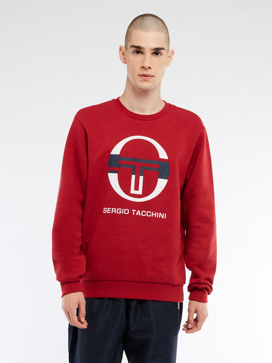 Zelda Sweatshirt - APPLE RED/WHITE/NAVY