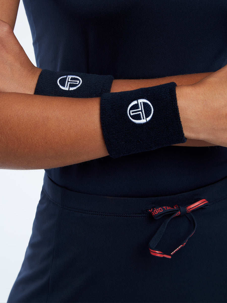 Tennis Wristband Women - NAVY/WHITE