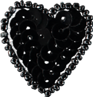 Heart Black Mini / 1.5