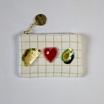 Taco, Heart, Avocado