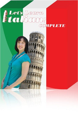 Let's Learn Italian! Complete, Deluxe Audio Course
