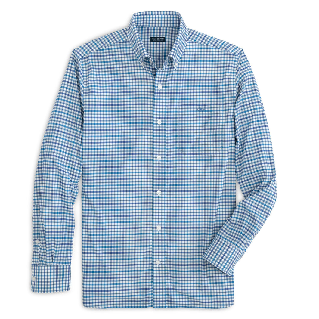Rowe Performance Woven Button Down