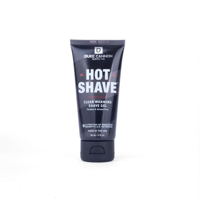 Travel Size Hot Shave Clear Warming Gel