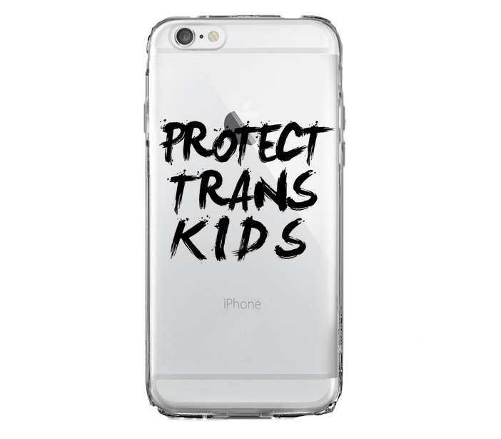 Protect Trans Kids iPhone Case - BOBO ACADEMY - iPhone - LGBTQ - PRIDE - APPAREL
