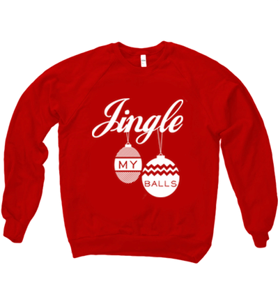 JINGLE MY BALLS SWEATER - BOBO ACADEMY - christmas - LGBTQ - PRIDE - APPAREL - 1