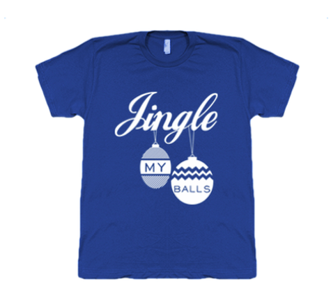 JINGLE MY BALLS SHIRT - BOBO ACADEMY - christmas - LGBTQ - PRIDE - APPAREL - 1