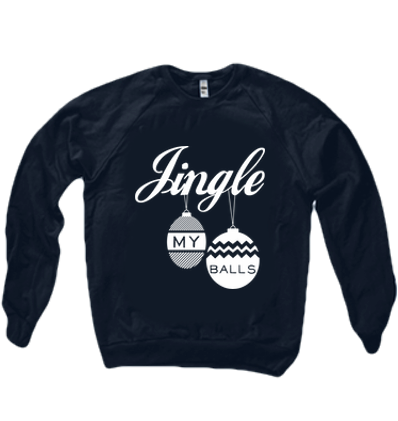 JINGLE MY BALLS SWEATER - BOBO ACADEMY - christmas - LGBTQ - PRIDE - APPAREL - 2