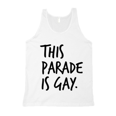 THIS PARADE IS GAY TANK - BOBO ACADEMY - tank - LGBTQ - PRIDE - APPAREL - 4