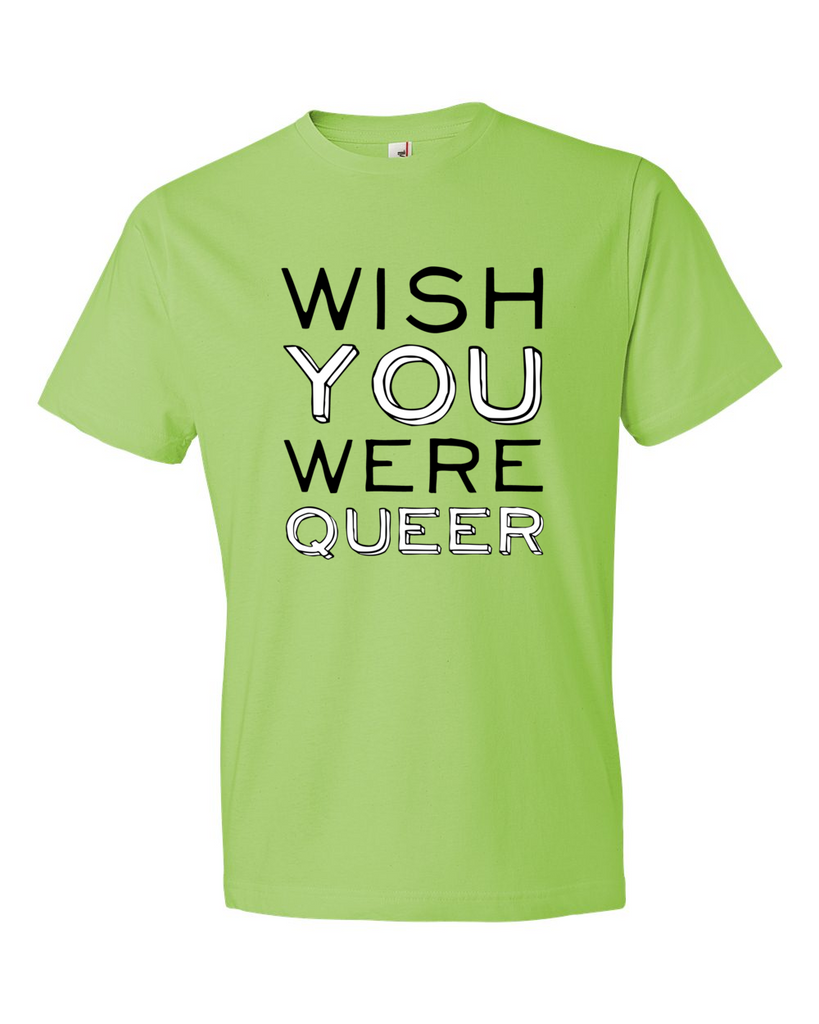 WISH YOU WERE QUEER - BOBO ACADEMY - T-Shirts - LGBTQ - PRIDE - APPAREL - 2