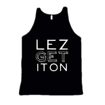 LEZ GET IT ON TANK - BOBO ACADEMY - tank - LGBTQ - PRIDE - APPAREL