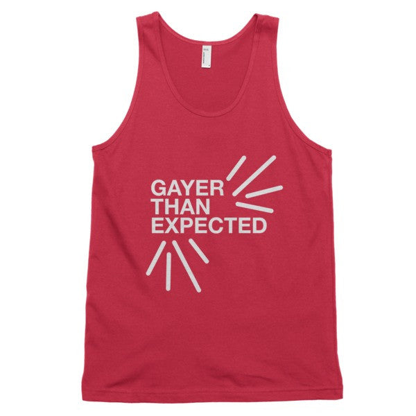 Gayer Than Expected Tank - BOBO ACADEMY -  - LGBTQ - PRIDE - APPAREL - 6