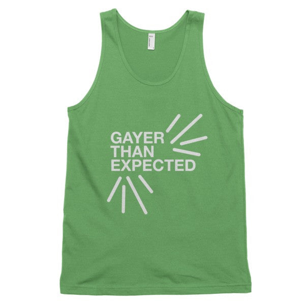 Gayer Than Expected Tank - BOBO ACADEMY -  - LGBTQ - PRIDE - APPAREL - 5