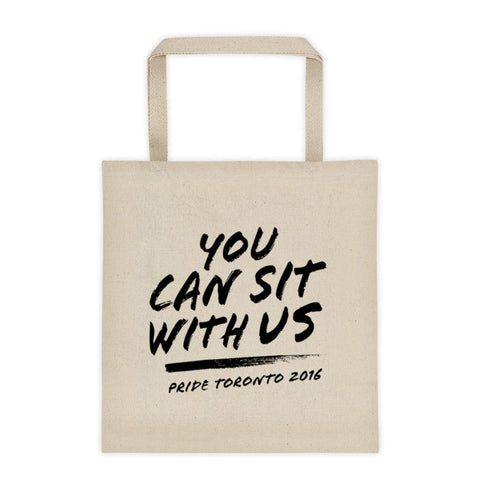 You Can Sit With Us Tote - BOBO ACADEMY -  - LGBTQ - PRIDE - APPAREL