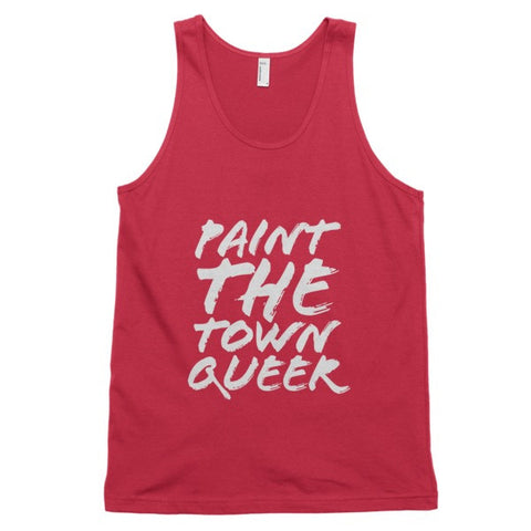 Paint The Town Queer Tank - BOBO ACADEMY -  - LGBTQ - PRIDE - APPAREL - 1