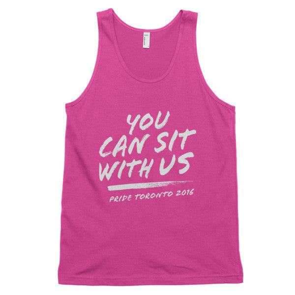 You Can Sit With Us Tank - BOBO ACADEMY -  - LGBTQ - PRIDE - APPAREL - 1