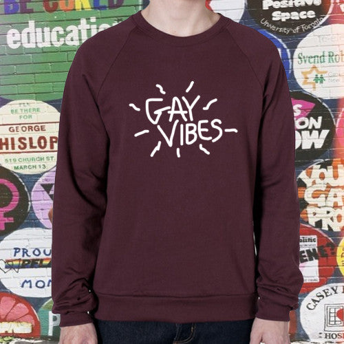 GAY VIBES SWEATER - BOBO ACADEMY - sweater - LGBTQ - PRIDE - APPAREL - 4
