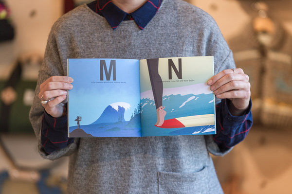 Book - S is for Surfing