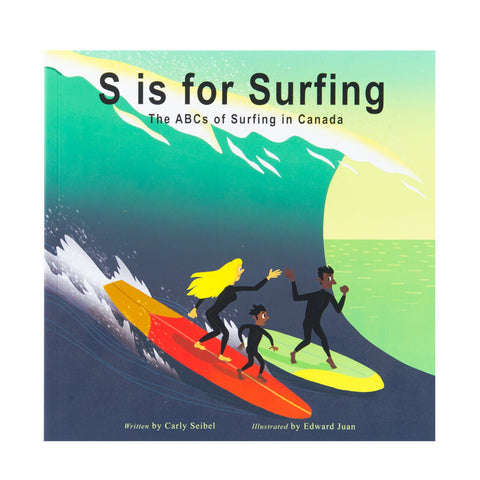 S is for Surfing - Book