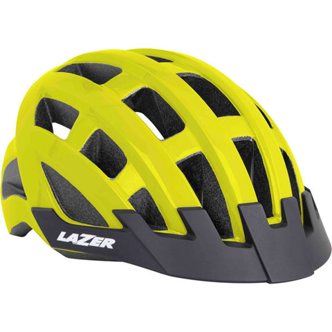 Lazer Compact Cycling Helmet - yellow
