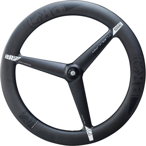 PRO 3K Carbon 3-Spoke Front Wheel - Tubular