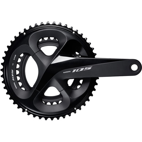 Shimano FC-R7000 105 Double Chainset HollowTech II - Black