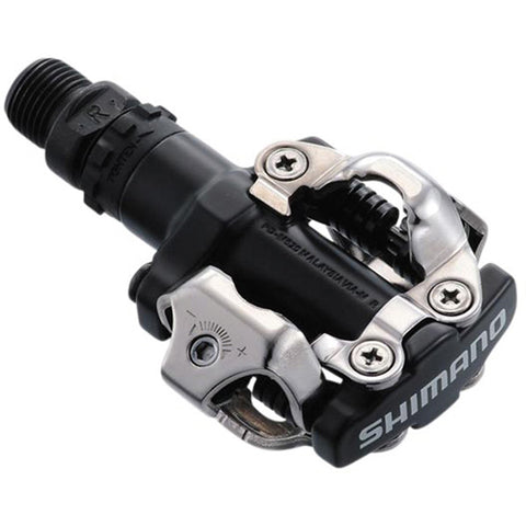 Shimano PD-M520 MTB SPD Pedals - Two Sided Mechanism - Black