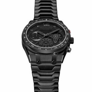 Triple Black Steel - HUSTLERS Co Watches Quartz Movement, Sapphire Crystal, 10ATM water resistance, 3 year international warranty, Sporty, Chronograph and Lifestyle Affordable Timepieces and