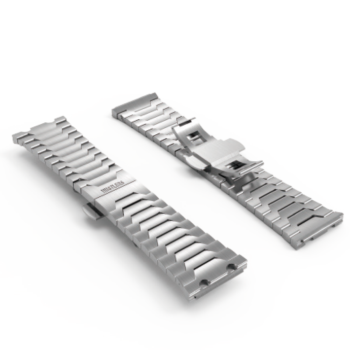 Silver bracelet - HUSTLERS Co Watches Quartz Movement, Sapphire Crystal, 10ATM water resistance, 3 year international warranty, Sporty, Chronograph and Lifestyle Affordable Timepieces and