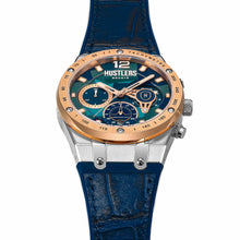 Load image into Gallery viewer, Camo Fusion Leather - HUSTLERS Co Watches Quartz Movement, Sapphire Crystal, 10ATM water resistance, 3 year international warranty, Sporty, Chronograph and Lifestyle Affordable Timepieces and
