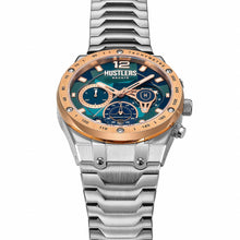 Load image into Gallery viewer, Camo Fusion Steel - HUSTLERS Co Watches Quartz Movement, Sapphire Crystal, 10ATM water resistance, 3 year international warranty, Sporty, Chronograph and Lifestyle Affordable Timepieces and