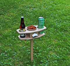 Collapsible Father's day Tailgate Table