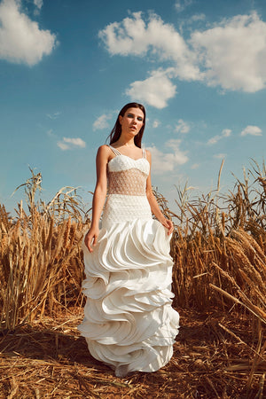 tulle Bridal dress