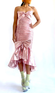 80s Metal Barbie Prom Dress